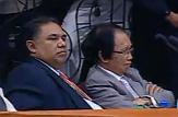 Atty Jose M Roy III with Former SC Justice Serafin Cuevas